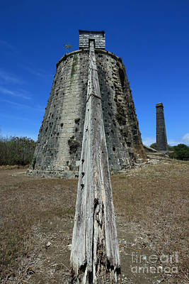 Photograph - Old Sugar Mill by Mary Haber