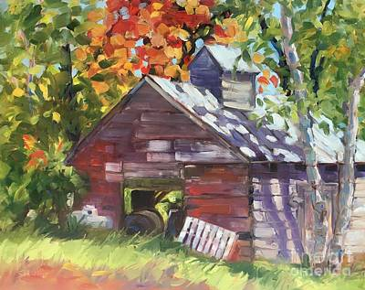 Painting - Old Sugarhouse by Lynne Schulte