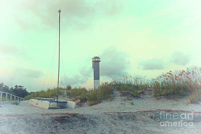 Photograph - Old Sullivan's Island Beach by Dale Powell