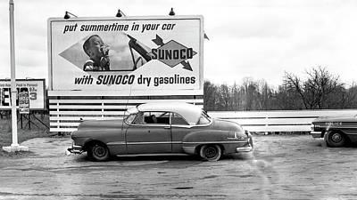Old Sunoco Sign Art Print