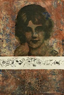 Image Transfer Mixed Media - Old Sweetheart by Susan Richards