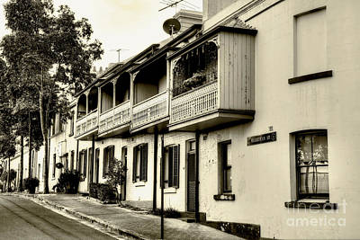 Photograph - Old Sydney In Sepia By Kaye Menner by Kaye Menner