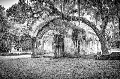 Photograph - Old Tabby Church by Scott Hansen