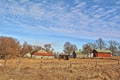 Photograph - Old Tama Farm by Bonfire Photography