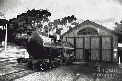 Tanker Wall Art - Photograph - Old Tanker Train Carriage Fine Art by Jorgo Photography - Wall Art Gallery