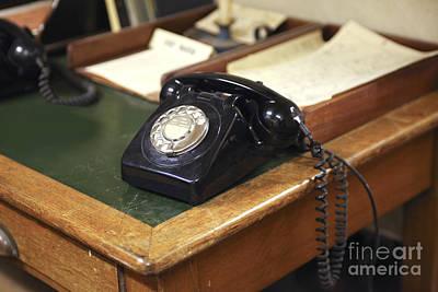 Old Telephone Art Print