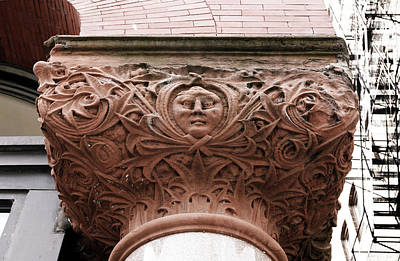 Photograph - Old Terracotta Ornamentation by Marilyn Hunt
