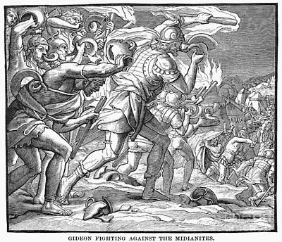 Old Testament: Gideon Art Print by Granger