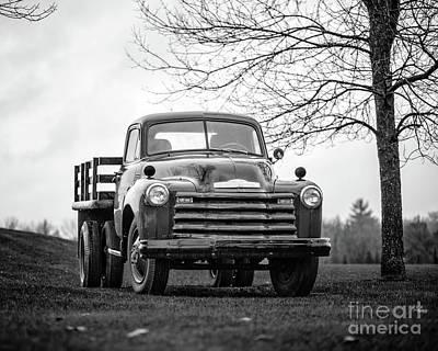 Photograph - Old Texas Farm Truck by Edward Fielding