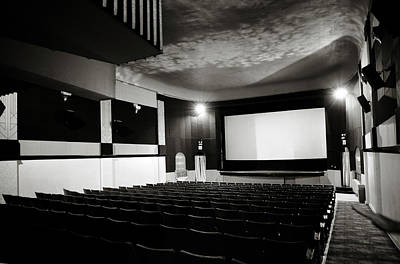 Old Theatre 3 Art Print by Marilyn Hunt
