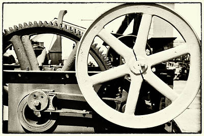 Photograph - Old Thresher 2 by Mary Bedy