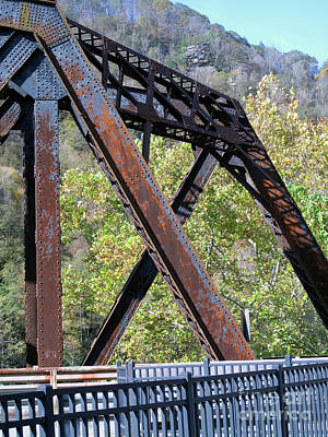 Photograph - Old Thurmond Bridge by Sandy McIntire