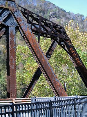 Photograph - Old Thurmond Bridge by Sandy McIntire