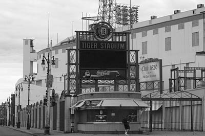 Detroit Wall Art - Photograph - Old Tiger Stadium  by Sabrina  Hall