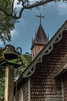 Photograph - Old Time Church Cross by Dale Powell