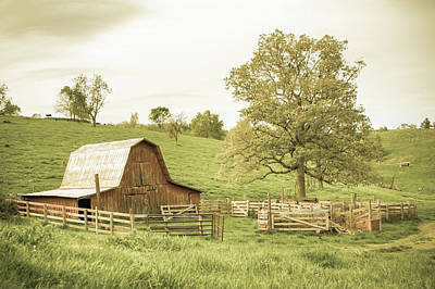 Photograph - Old Time Country - Aged Vintage by Gregory Ballos