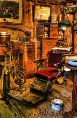 Photograph - Old Time Dentist Office -  Dentistry -  Surgery - II by Lee Dos Santos