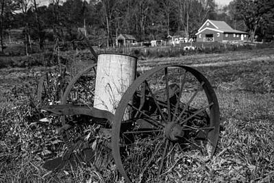 Photograph - Old Time Farming by Karol Livote