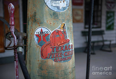 Photograph - Old Time Gas Station Pump by Dale Powell