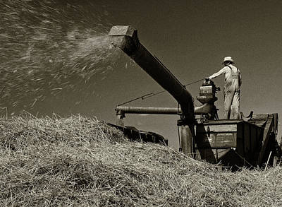Photograph - Old Time Harvest by Inge Riis McDonald