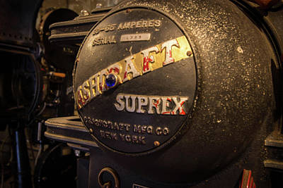 Photograph - Old Time Projector by Michael Porchik