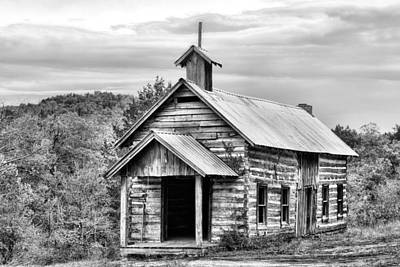 Photograph - Old Time Religion Bw by JC Findley