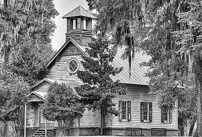 Photograph - Old Time Religion In Black And White by JC Findley