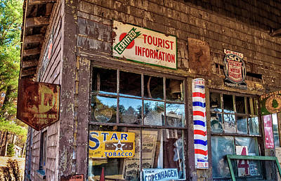 Photograph - Old Time Storefront by Gary Shepard
