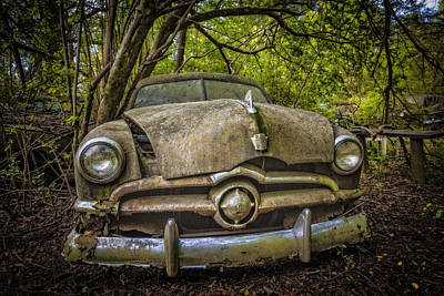 Photograph - Old Timer by Debra and Dave Vanderlaan