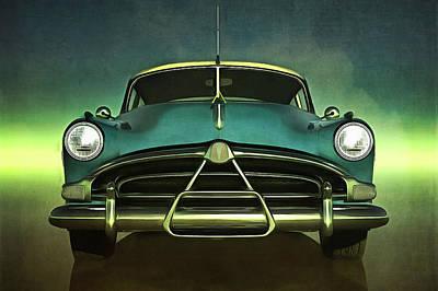 Old-timer Hudson Hornet Art Print