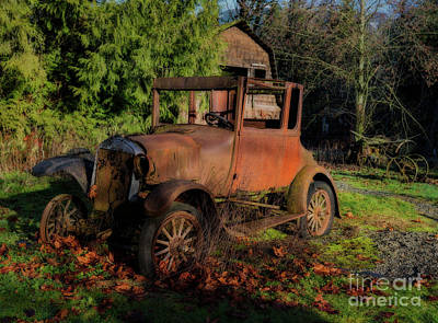 Digital Art - Old Timer by Jim Hatch