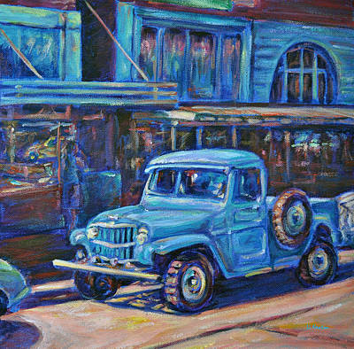 Newton Painting - Old Timer by Li Newton