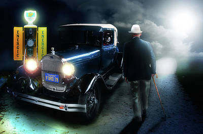 Digital Art - Old Timer by Nathan Wright
