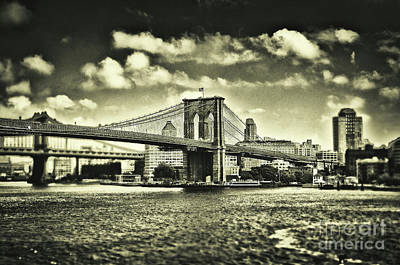 Old Times In Brooklyn Art Print by Alessandro Giorgi Art Photography