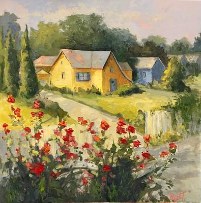 Painting - Old Times by Mary Scott