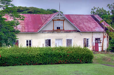 Photograph - Old Tobago House by Nadia Sanowar