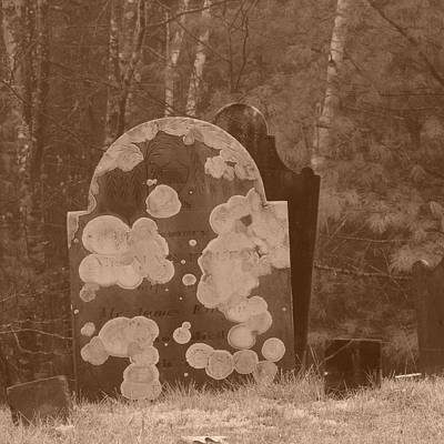 Photograph - Old Tombstones by Bill Tomsa