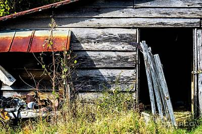 Old Tool Shed  Art Print by JW Hanley