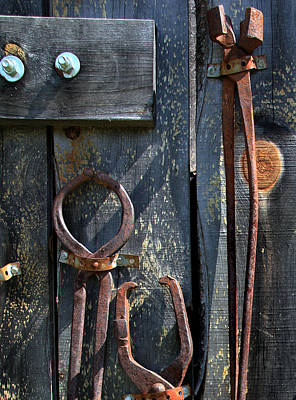 Art Print featuring the photograph Old Tools by Joanne Coyle