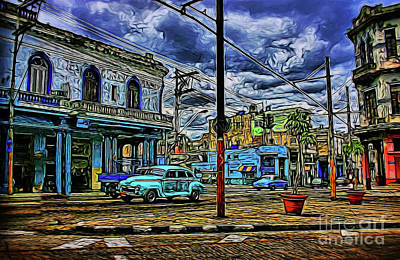 Photograph - Old Town 19818 by Ray Shrewsberry