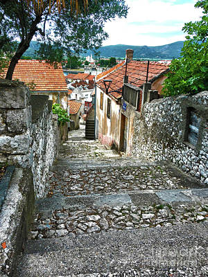 Photograph - Old Town #2 Metkovic Croatia by Jasna Dragun