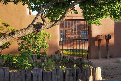Photograph - Old Town Albuquerque Pueblo  by Gregory Ballos