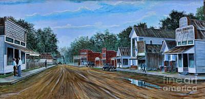Old Town Breaux Bridge La Art Print
