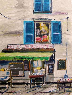 Old Town Cafe Original by John Williams