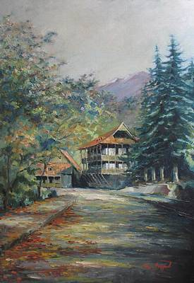 Painting - Old Town Dilijan by Tigran Ghulyan
