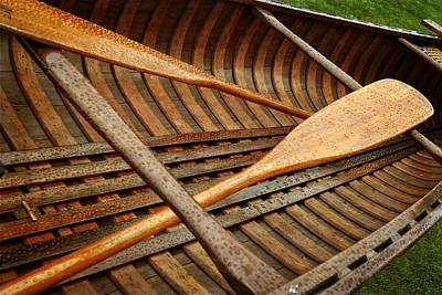 Photograph - Old Town Guide's Special Model Canoe 2.0 by Michelle Calkins