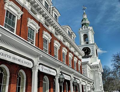 Old Town Hall And Unitarian Church Art Print