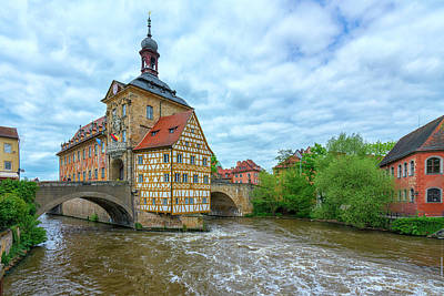 Photograph - Old Town Hall In Bamberg Germany-7r2_dsc7782_05092017 by Greg Kluempers