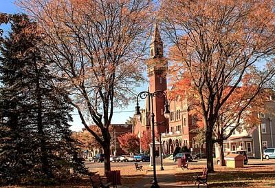 Photograph - Old Town Hall In The Fall by Sven Kielhorn