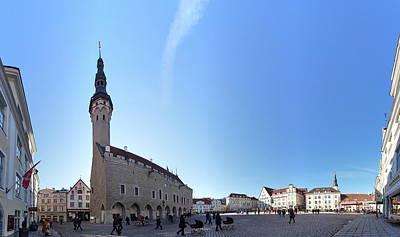 Photograph - Old Town Hall Of Tallinn by Jouko Lehto